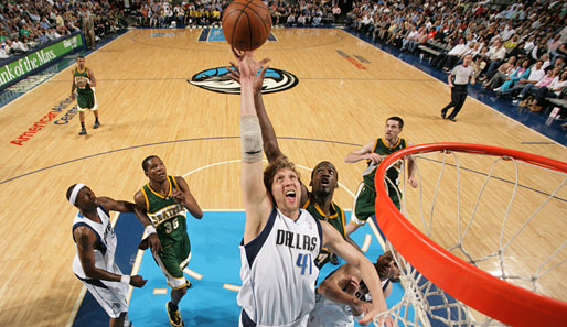 Dallas, NBA, seattle, Nowitzki