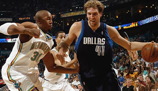 Nowitzki, Dirk, David, West, Dallas, Mavericks, New Orleans, Hornets