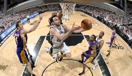 Manu Ginobili, San Antonio, Lakers