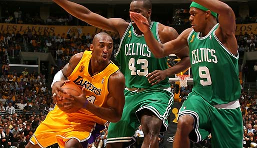 Kobe Bryant, Lakers, Celtics