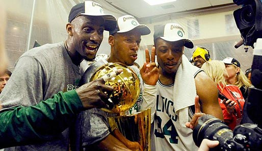 Celtics, Garnett, Allen, Pierce