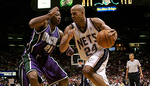 Richard Jefferson, Bobby Simmons, Milwaukee Bucks, New Jersey Nets