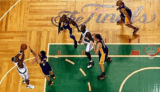 NBA-Finale, Spiel 1, Boston Celtics, Los Angeles Lakers
