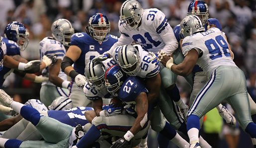 NFC East, Giants, Cowboys