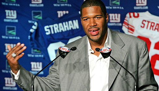 Michael Strahan, kein Comeback, New York Giants, Trikot