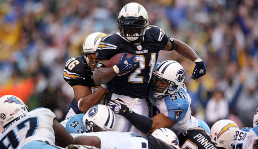 LaDainian Tomlinson, NFL, AFC West, San Diego Chargers