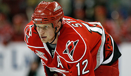 Eishockey, NHL, Eric Staal, Carolina Hurricanes