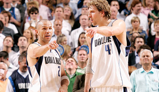 Nowitzki, Kidd, Dallas, Mavs
