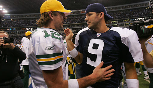 NFL, Romo, Rodgers, Packers, Cowboys