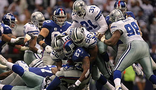 New York Giants, Dallas Cowboys