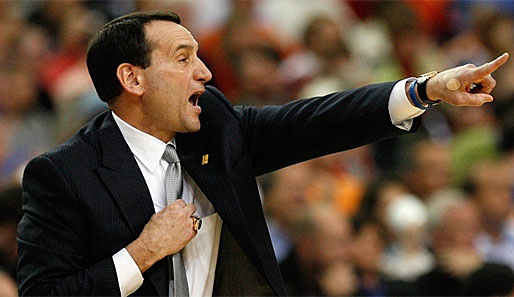 Mike Krzyzewski, oder kurz Coach K, trainert seit 1981 die Duke University in der NCAA