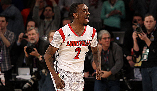 """Russdiculous"" Smith in Action. Louisvilles Shooting Guard ist ein ganz verrückter Vogel"