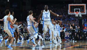 Die North Carolina Tar Heels siegten im March Madness 2017