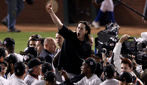World Series, Baby! Superstar-Pitcher Tim Lincecum und die Giants am Ziel ihrer Träume