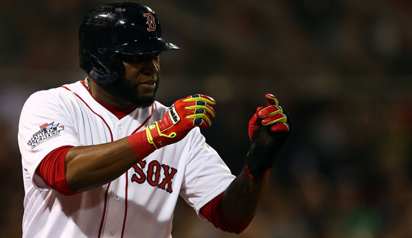 David Ortiz spielt seit 2003 bei den Boston Red Sox