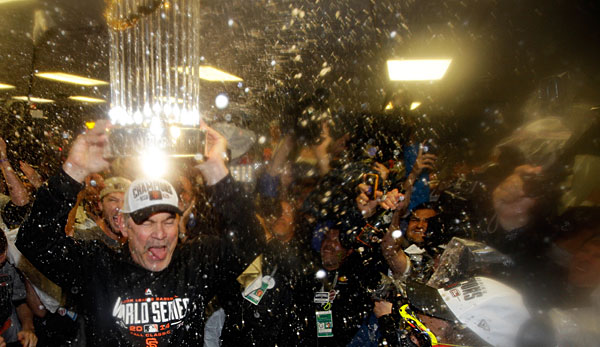 Die San Francisco Giants feierten den World-Series-Triumph