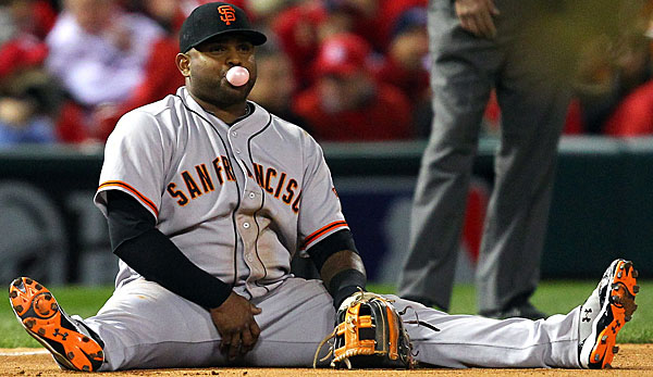 Pablo Sandoval peilt mit San Francisco die World Series an