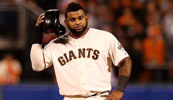 Pablo Sandoval gewann mit den San Francisco Giants dreimal die World Series