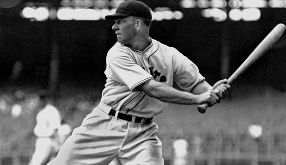Platz 25: Mel Ott - 511 Homeruns (1926-1947 für die New York Giants)