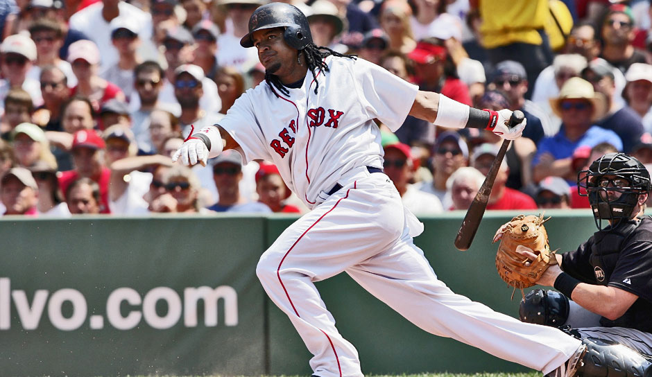 Platz 15: Manny Ramirez - 555 HR (1993-2011 für die Cleveland Indians, Boston Red Sox, Los Angeles Dodgers, Chicago White Sox, Tampa Bay Rays)