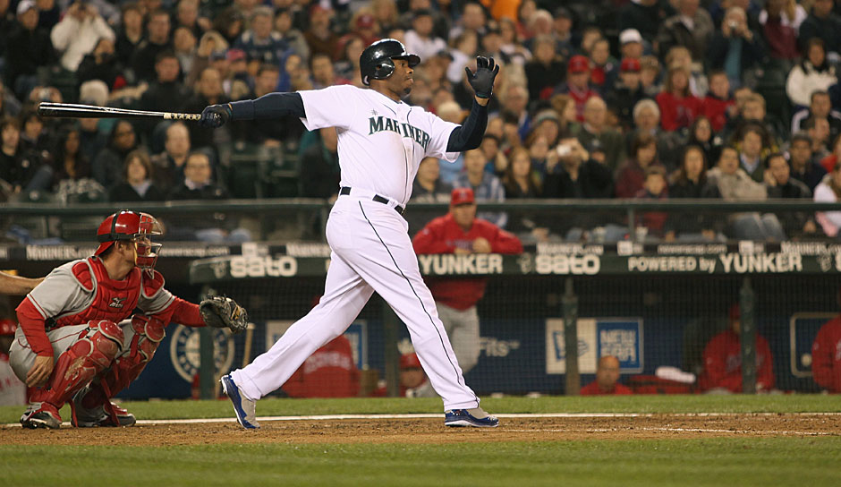 Platz 6: Ken Griffey Jr. - 630 Homeruns (1989-2010 für die Seattle Mariners, Cincinnati Reds, Chicago White Sox)