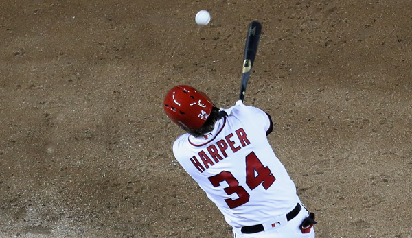 Bryce Harper von den Washington Nationals