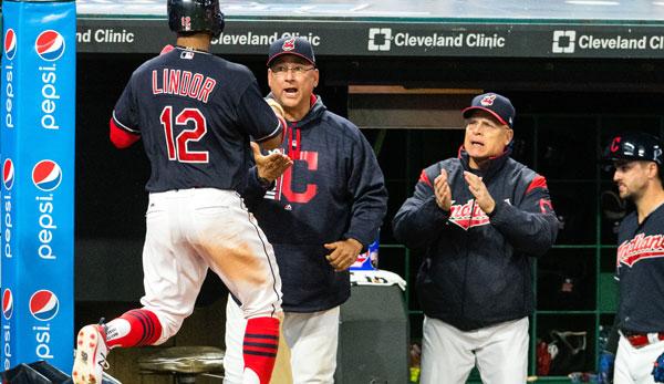 22! Cleveland Indians bauen Siegesserie weiter aus