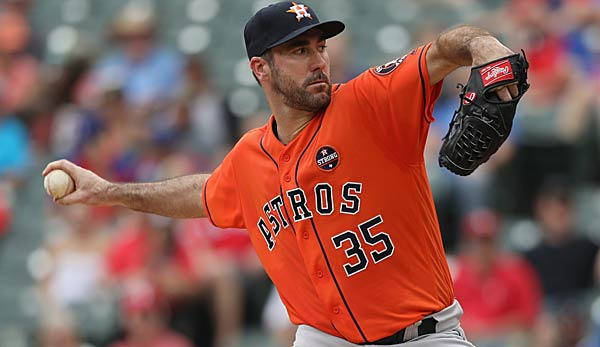 Justin Verlander will mit den Houston Astros die World Series gewinnen