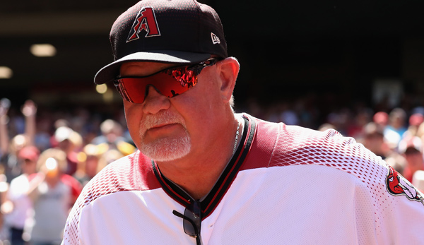 Ron Gardenhire war in der Saison 2017 der Bench Coach der Arizona Diamondbacks