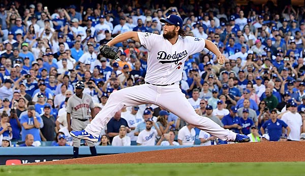Clayton Kershaw war überragend in Spiel 1 der World Series