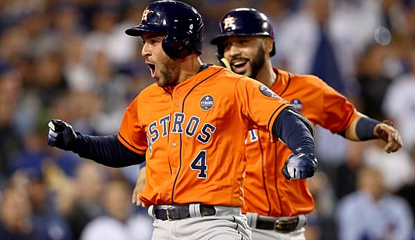 George Springer schlug einen Homerun in Spiel 7 der World Series