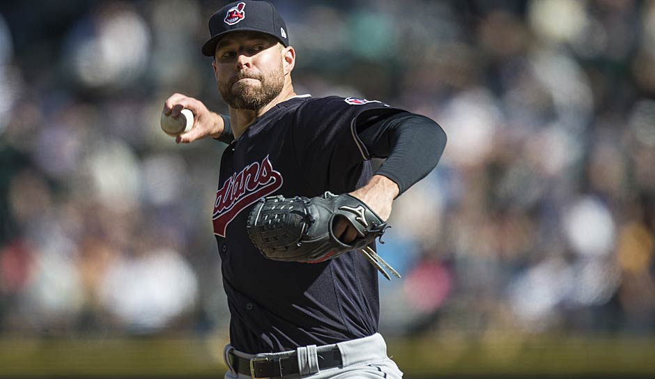 AMERICAN LEAGUE - Cy Young Award: Corey Kluber (Cleveland Indians)
