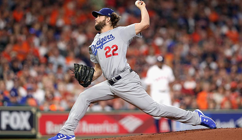 NATIONAL LEAGUE - Cy Young Award: Clayton Kershaw (Los Angeles Dodgers)
