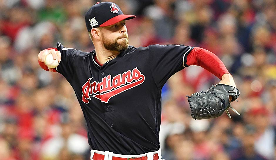 Best Pitcher: Corey Kluber (Cleveland Indians) - Bilanz: 18-4, ERA: 2,25, Strikeouts: 265, Innings Pitched: 203 2/3