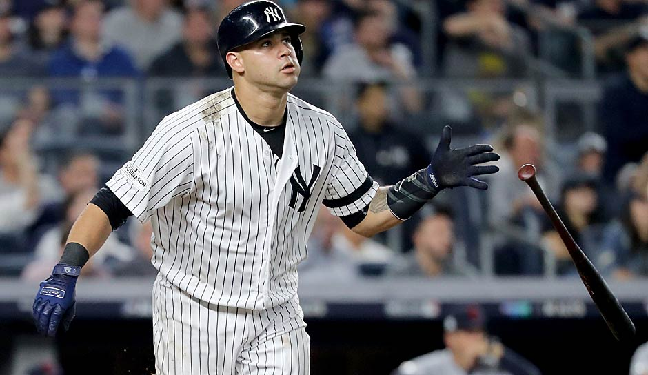 AMERICAN LEAGUE - Catcher: Gary Sanchez (New York Yankees)