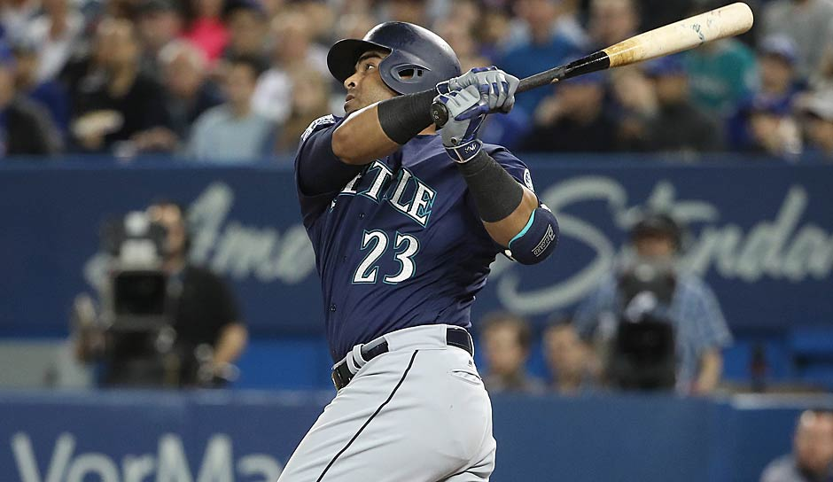 AMERICAN LEAGUE - Designated Hitter: Nelson Cruz (Seattle Mariners)