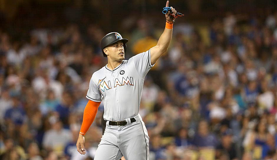 Outfield: Giancarlo Stanton (Miami Marlins)