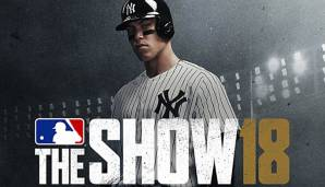 Aaron Judge von den New York Yankees ist der Cover-Athlet von MLB The Show 18.