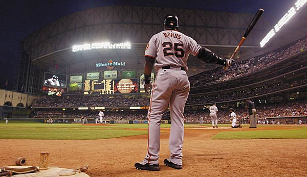 Barry Bonds ist Home-Run-König der MLB