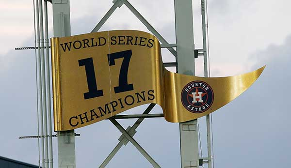 Die Houston Astros erinnern sich an den Sieg in der World Series 2017.