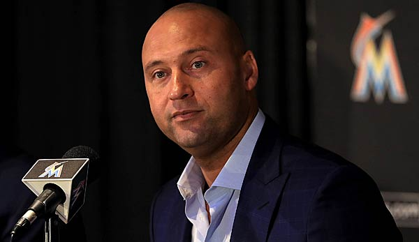 Derek Jeter ist der CEO der Miami Marlins in der MLB.