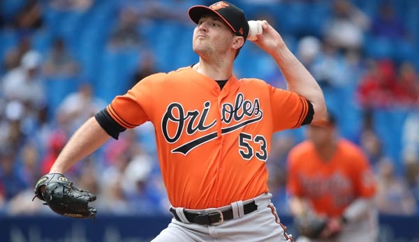 Zach Britton pitcht fortan für die New York Yankees.