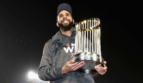 David Price hat mit den Red Sox die World Series gewonnen.