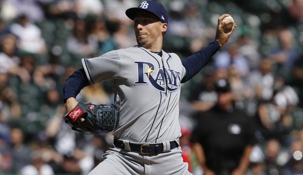 MLB - Tampa Bay Rays: Pitcher Blake Snell bricht sich Zeh im Badezimmer