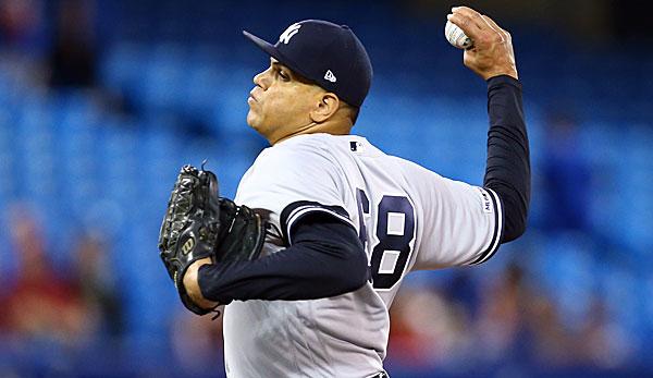 MLB-News: Pitcher Dellin Betances von den New York Yankees fällt erneut verletzt aus