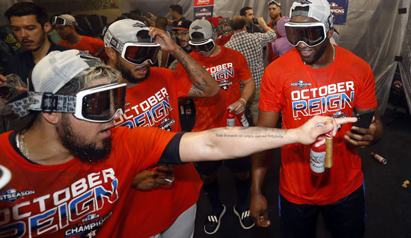 MLB: Houston Astros gewinnen zum dritten Mal in Serie American League West