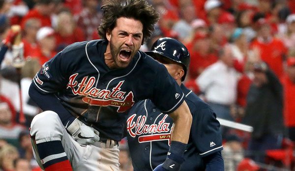 MLB Playoffs: Spätes Drama! Braves schocken Cardinals - Dodgers überfallen Nationals