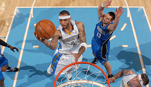 Kenyon Martin kam über die New Jersey Nets in die NBA