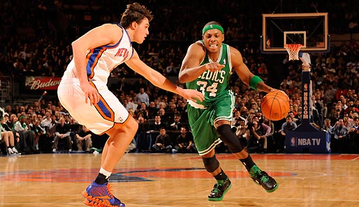 Paul Pierce traf im Madison Square Garden den Game-Winner zum Sieg der Celtics