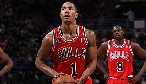 MVP-Favorit Derrick Rose und seine Chicago Bulls müssen bei Dwight Howards Orlando Magic ran